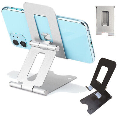 Cell Phone Tablet Switch Stand Metal Desk Table Holder Cradle Dock For iPhone 12