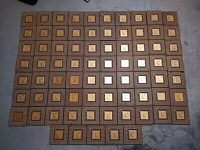 ⭐🥇81 Ceramic CPU's, Very High Yield Gold Recovery, (2lb 12oz) FREE SHIPPING!