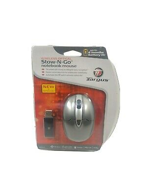 Wireless Optical Stow-N-Go Notebook Mouse AMW25US