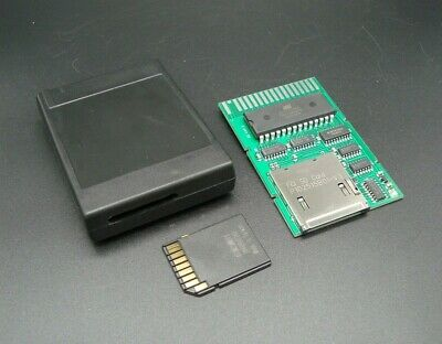 SD-Cart JR - Cartridge PCB w Case and SD Card - for IBM PCjr-
