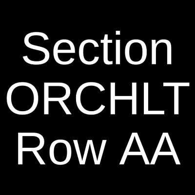 2 Tickets Jesus Christ Superstar 42222 Atlanta GA