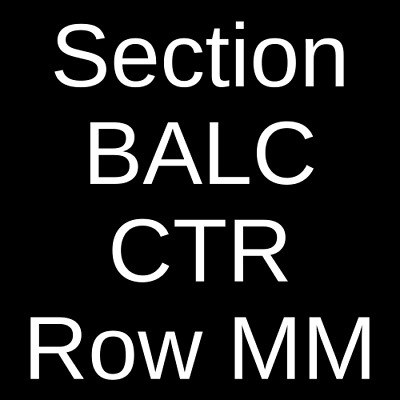 4 Tickets David Foster 122221 Fort Myers FL