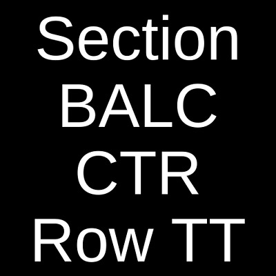 2 Tickets David Foster 122221 Fort Myers FL