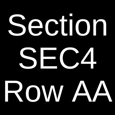 2 Tickets Thomas Rhett - Cole Swindell 10821 Charlotte NC