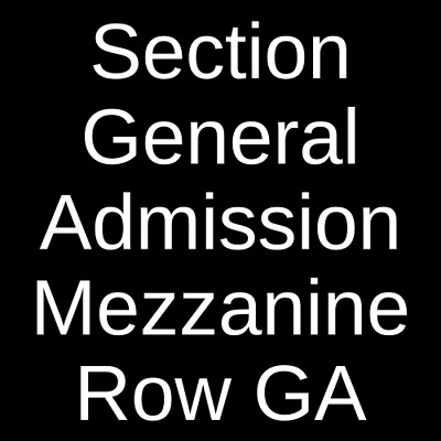 2 Tickets Dance Gavin Dance 93021 House Of Blues - Boston Boston MA
