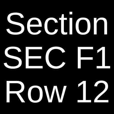 2 Tickets Alanis Morissette Garbage - Liz Phair 10521 Los Angeles CA
