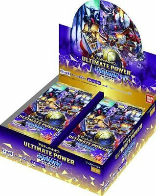 Bandai Ultimate Power Digimon Card Game Booster BT-02 New