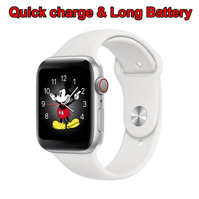 2021 SmartWatch for iPhone iOS Android Bluetooth Waterproof Long Battery Sport