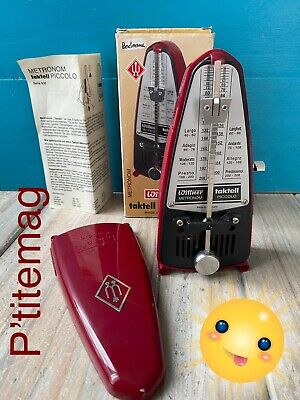 Metronome Wittner Taktell Piccolo made in Germany ref 834 Rubis