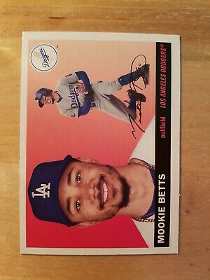 2020 Topps Archives Mookie Betts No-27