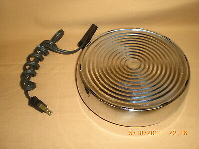 Vintage WEST BEND Heat-Rite electric Hot Plate Base  3295 Works Great