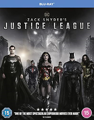 Zack SnyderS Justice League UK IMPORT BLU-RAY NEW