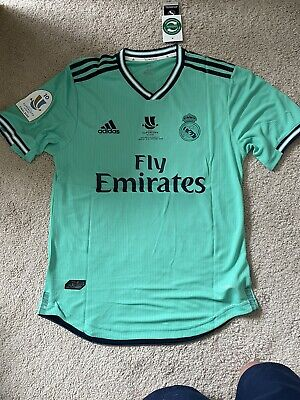 Adidas 2020 Real Madrid Super Cup Jersey Modric 10 Size Large