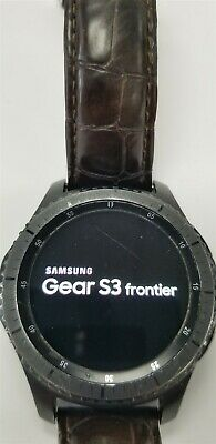 Samsung Gear S3 Frontier SM-R760 46mm Black Bluetooth DISCOUNTED TW1016