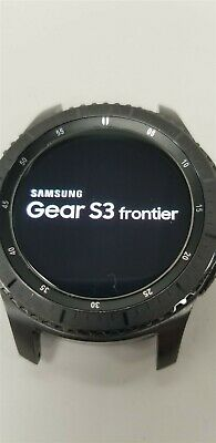 Samsung Gear S3 Frontier SM-R760 46mm Black Bluetooth DISCOUNTED TW1018