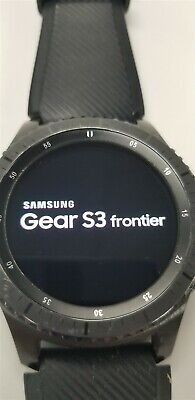 Samsung Gear S3 Frontier SM-R760 46mm Black Bluetooth DISCOUNTED TW1033