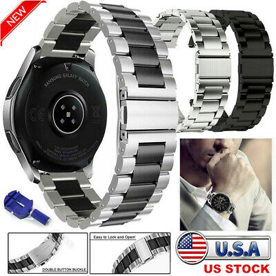 20mm 22mm Replacement Stainless Steel Watch Band Link Bracelet Metal Wrist Strap