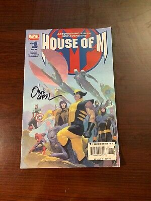 Marvel House of M 1 August 2005 Signed by Olivier Coipel