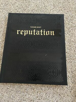 TAYLOR SWIFT Official Reputation Tour Limited Edition Hardcover VIP Book Likenew