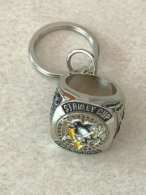 Pittsburgh Penguins Stanley Cup Ring Keychain 2016 Season Ticket Holder gift