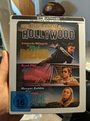 Once Upon a Time in Hollywood 2019 Steelbook Blu-ray - 4K UHD BRAND NEW