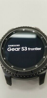 Samsung Gear S3 Frontier SM-R760 46mm Black Bluetooth DISCOUNTED TW1067