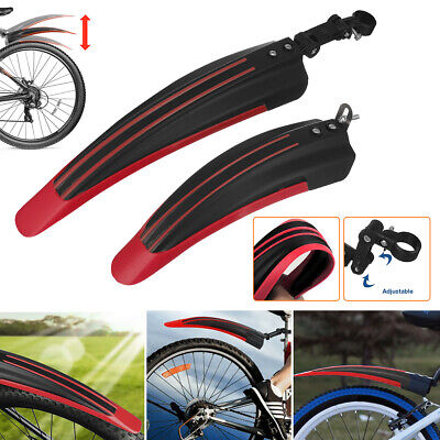 Mountain Bike Bicycle Cycling Tire FrontRear Mud Guards Mudguard Fenders Set