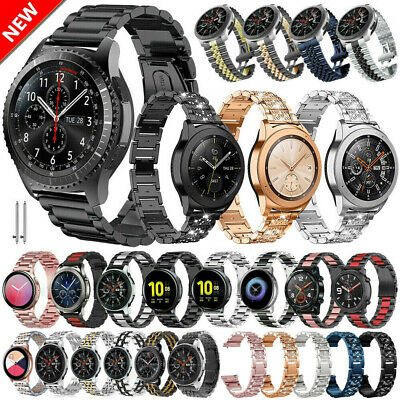 Bling Stainless Steel Watch Band Strap For Samsung Gear S2S3 Frontier  Classic
