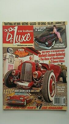 Car Kulture Deluxe Not Your Old Mans Car Magazine Free Pull Out March 2018