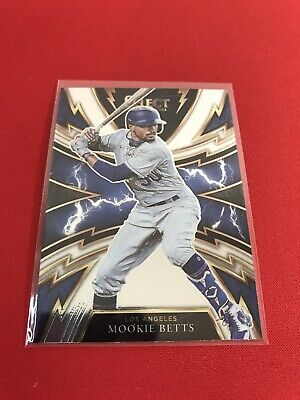 Panini Select Baseball 2021 Mookie Betts Sparks Insert Los Angeles Dodgers