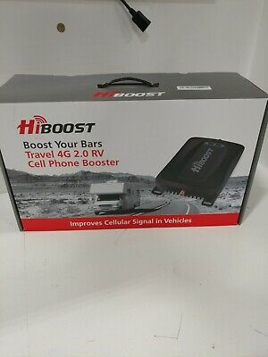 HiBoost Travel 4G 2-0 RV - Camper Cell Phone Booster for Verizon AT-T T-Mobile
