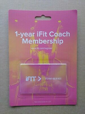 1-year iFit Coach Membership for NordicTrack and ProForm family
