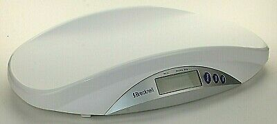 Brecknell MS-15 Medical Veterinary Digital Scale 44lbs White Office Battery Tray