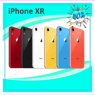 Apple iPhone XR 64GB Unlocked Verizon AT-T Tracfone T-Mobile NorthwestCell 4G