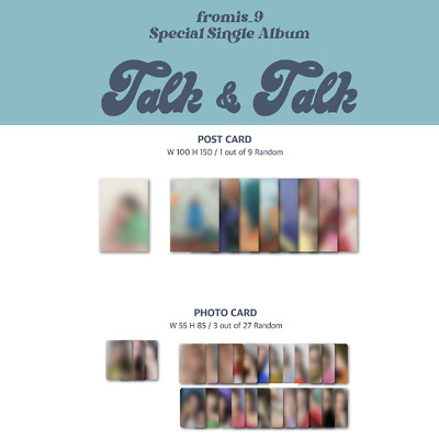 FROMIS-9 - TALK - TALK PHOTO CARD POST CARD YES24 PRE-ORDER BENEFIT