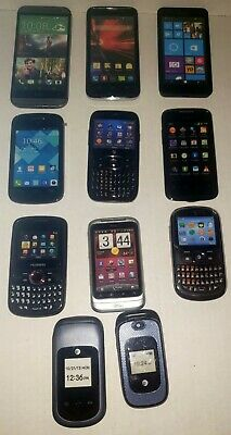Cell Phone Prop  Display Dummy Model Toy Phone Lot Of 11 See Pictures