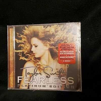 Taylor Swift - Fearless New CD Bonus Tracks With DVD Special Ed