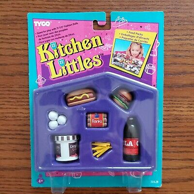Vintage Tyco Kitchen Littles Picnic Party Set 1995 New Unopened Package