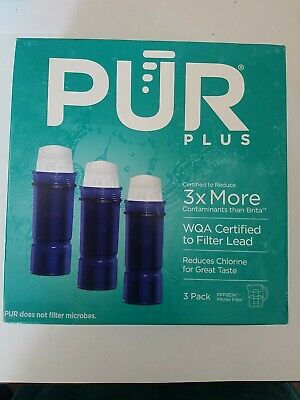 NEW 3 Pack PUR MAXION PPF951K Replacement Pitcher Filter Lead Reduction