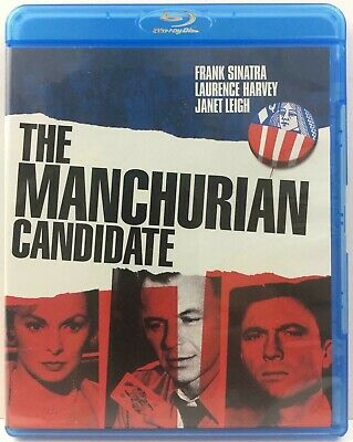 The Manchurian Candidate Blu-ray Disc 2011 Frank Sinatra Janet Leigh