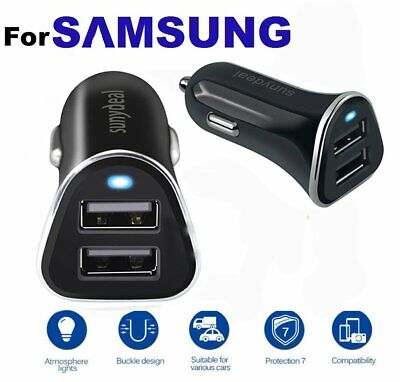 2 Port USB Fast Car Charger Adapter For Samsung Huawei Android Cell Phone LG