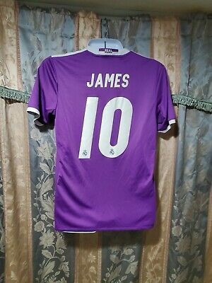 Real Madrid soccer jersey  James Rodriguez 10 season 2016  size M free shipping