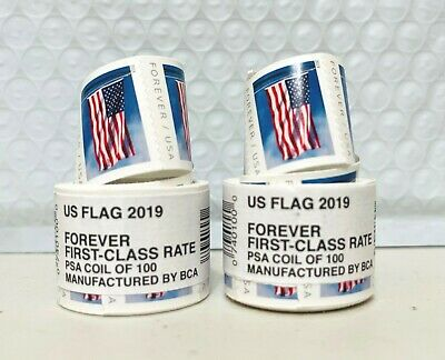 200 USPS Forever Stamps  NewSealed  Manufactured By BCA  Free Shipping