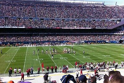 Chicago BEARS vs San Francisco 49ers NOON CDT-2 tickets-40YD Line