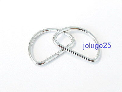 100 58 inch D Rings Metal Dee Rings Webbing  Strapping 37107