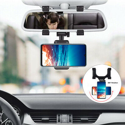 360° Car Mount Holder Stand Air Vent Cradle For iPhone Mobile Cell Phone GPS PDA