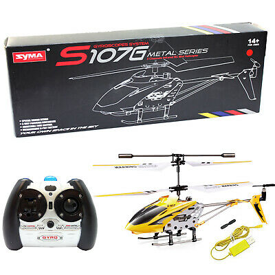 Cheerwing S107 S107G 3CH 3-5CH Mini Alloy Remote Control RC Helicopter Gyro