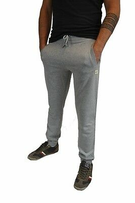 GUESS,Herren,Men,TrainingsHose,Sport,Cuff Pants,NEU,Fitness,Grau,Bequem,Grey,%%%