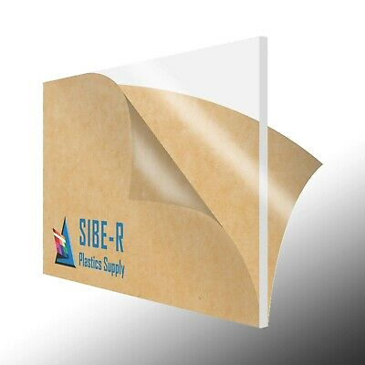 ACRYLIC PLEXIGLASS 18 X 12 X 12 PLASTIC SHEET YOU PICK COLOR