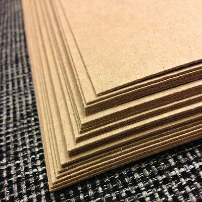 0-030 Chipboard 8-5x11 - 20 Sheets medium weight for crafts scrapbook shipping
